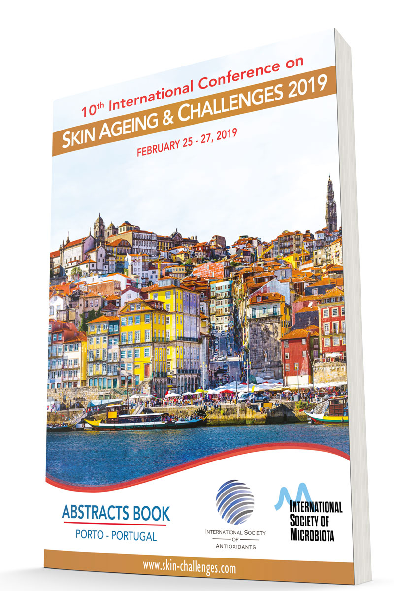 Skin Ageing & Challenges Abstracts Book cover 3D